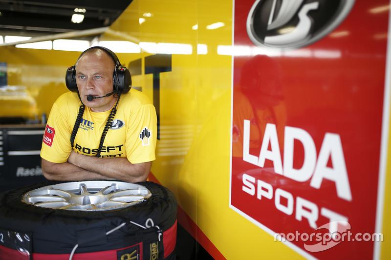 Viktor Shapovalov, Team manager Lada Sport Rosneft