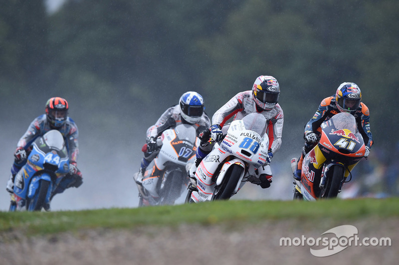 Jorge Martin, Aspar Team Mahindra e Brad Binder, Red Bull KTM Ajo