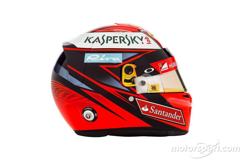 Kimi Raikkonen, capacete