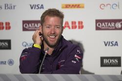 Sam Bird, DS Virgin Racing, en la conferencia de prensa del viernes
