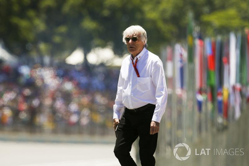 Bernie Ecclestone, Chairman Emeritus Formula 1