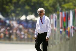 Bernie Ecclestone, Fahri Başkan, Formula 1