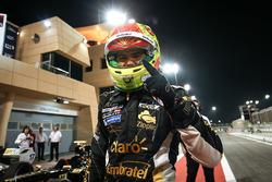 Campeón 2017 Pietro Fittipaldi, Lotus, celebra