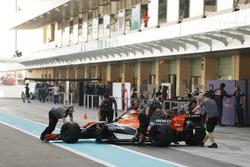 Оливер Терви, McLaren MCL32 Honda