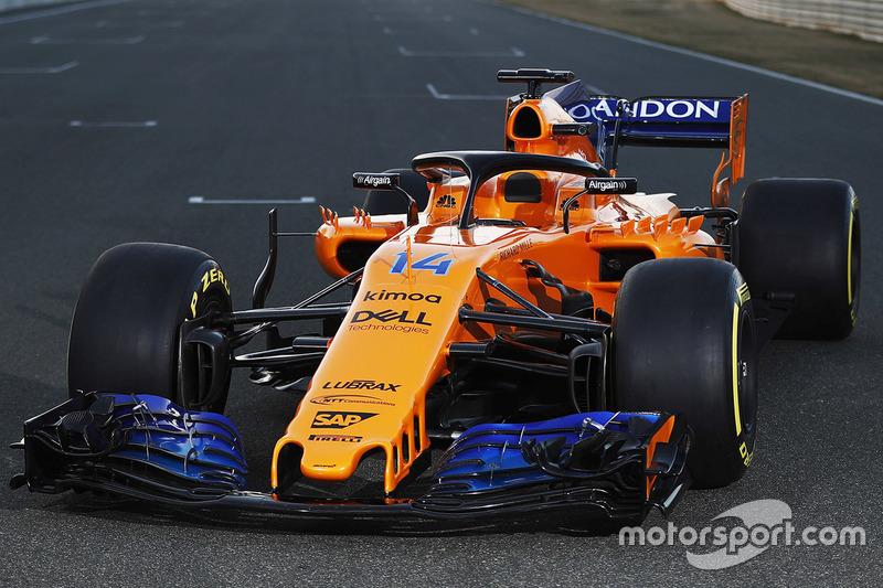McLaren : depuis 2018