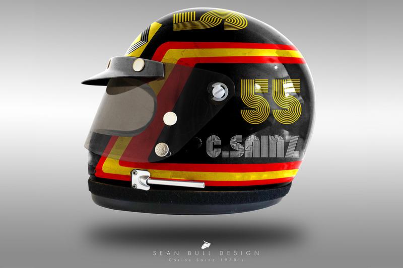 Fórmula 1 Los cascos 'retro' de los pilotos de F1