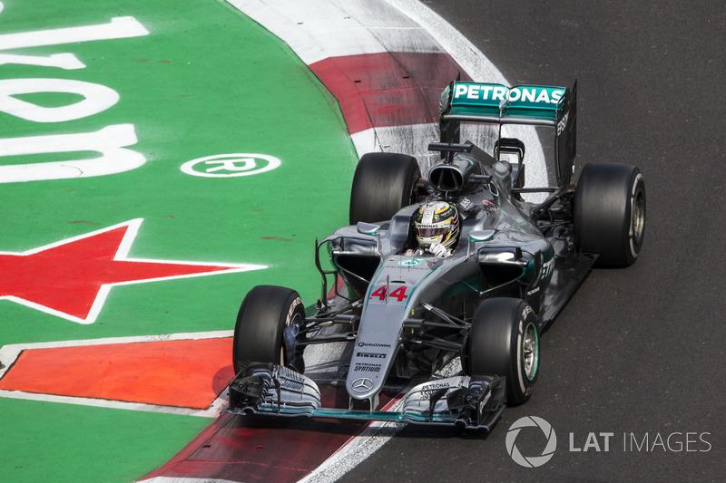 2016: Lewis Hamilton, Mercedes-Benz F1 W07