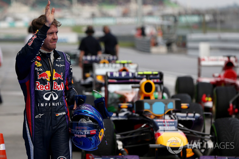 Sebastian Vettel (tetra em 2013) – 36 vitórias em 117 largadas (31%)