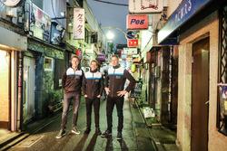 Гонщики Polestar Cyan Racing Тед Бьорк, Нестор Джиролами и Ники Катсбург
