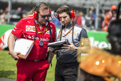 Dave Greenwood, Ferrari Race Engineer and Pirelli Engineer