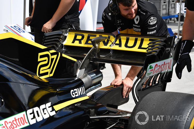 Renault Sport F1 Team R.S. 18 rear wing