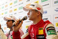 Conferenza stampa, Ralf Aron, PREMA Theodore Racing Dallara F317 - Mercedes-Benz