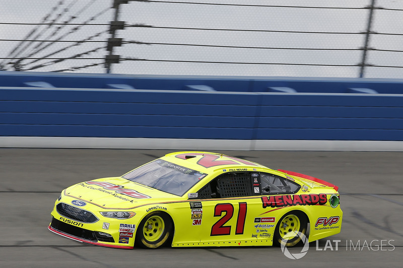 14. Paul Menard, No. 21 Wood Brothers Racing Ford Fusion
