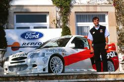 Lancement de la Ford Escort WRC avec Carlos Sainz