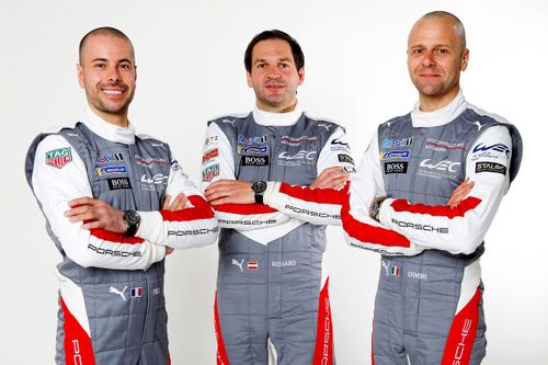 Porsche GT Team driver lineup