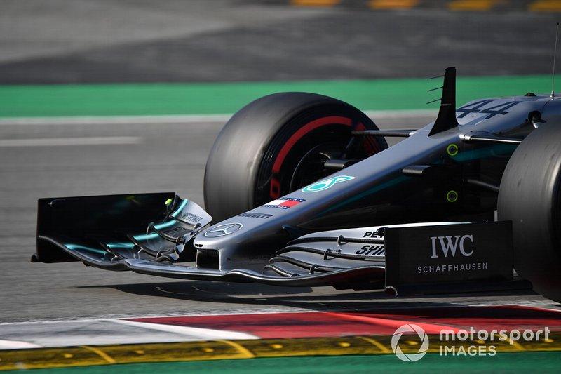 Musetto della Mercedes-AMG F1 W10