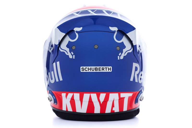 Шлем пилота Toro Rosso Даниила Квята