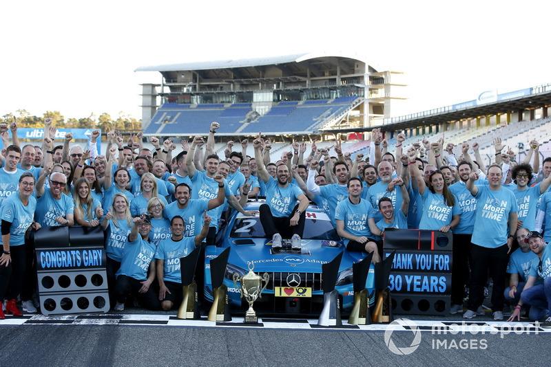 Чемпіон Гері Паффетт, Mercedes-AMG Team HWA