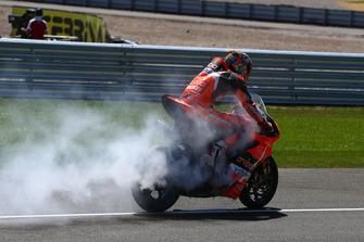 Chaz Davies, Aruba.it Racing-Ducati SBK Team blown engine