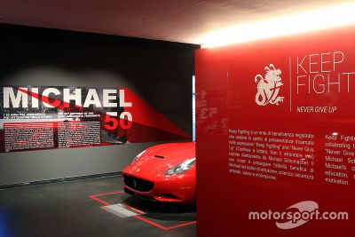 Inauguración del museo Michael 50 Ferrari