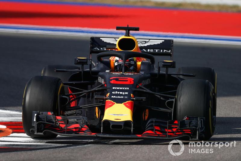 6e : Daniel Ricciardo (Red Bull Racing)