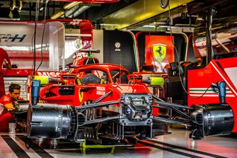 Ferrari SF71H team