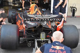 Red Bull Racing RB14, il retrotreno
