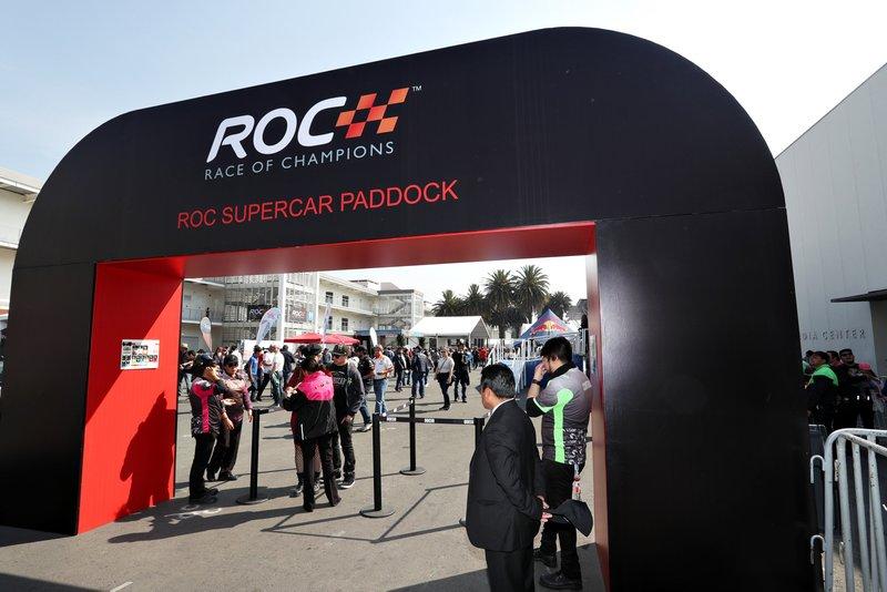 Le paddock ROC Supercar