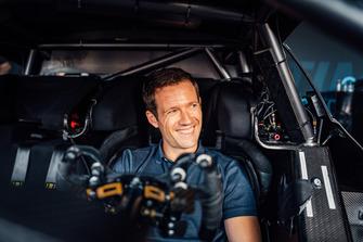 Sebastien Ogier nella Mercedes-AMG C 63 DTM