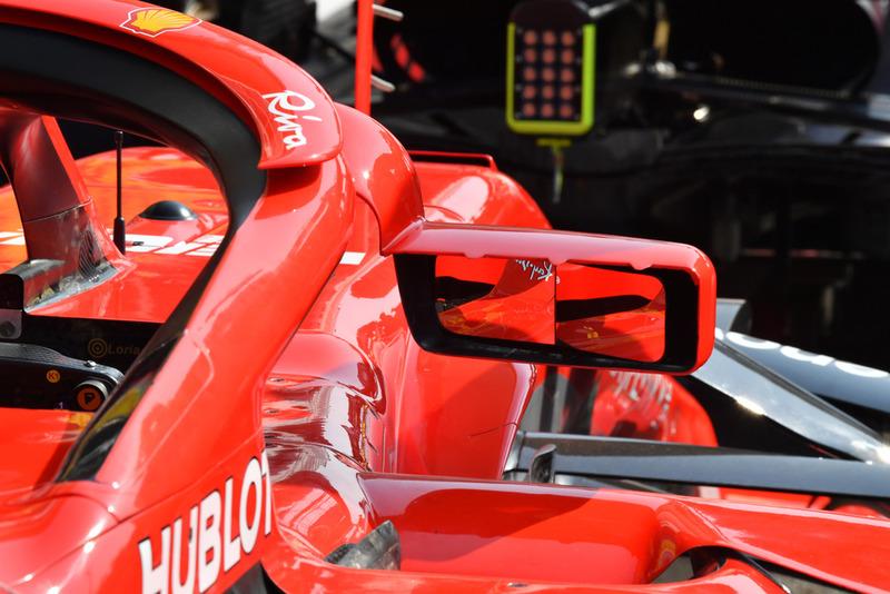 Ferrari SF71H mirror