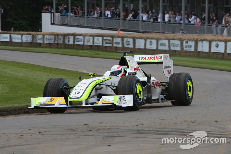 Martin Brundle, Brawn Mercedes BGP 001