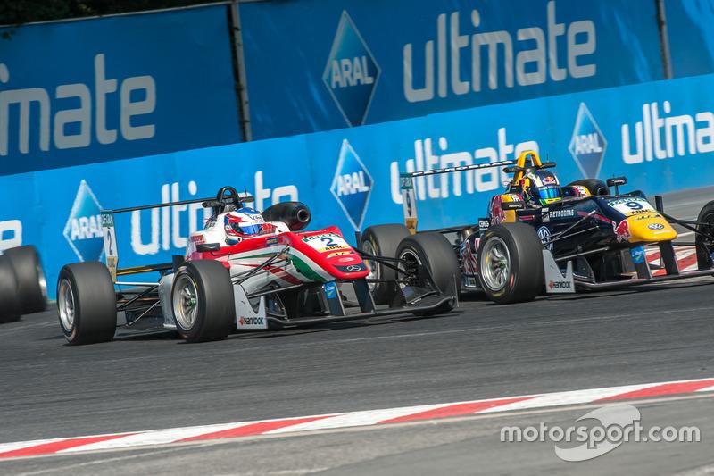 Nick Cassidy, Prema Powerteam Dallara F312 - Mercedes-Benz, Sérgio Sette Câmara, Motopark Dallara F312 - Volkswagen