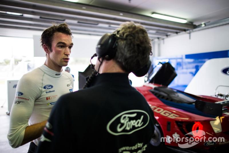 #67 Ford Chip Ganassi Racing Team UK Ford GT: Harry Tincknell
