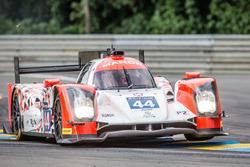 Off-track excursion for #44 Manor Oreca 05 Nissan: Tor Graves, Matthew Rao, Roberto Merhi