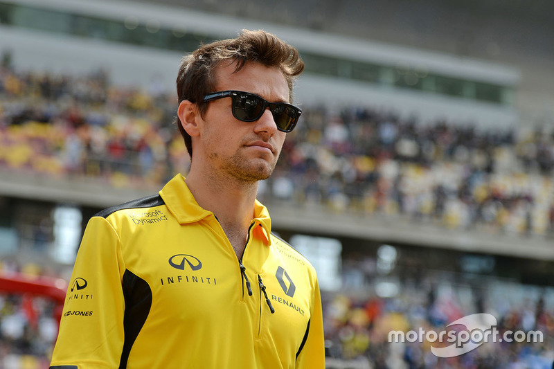 Jolyon Palmer, Renault Sport F1 Team on the drivers parade