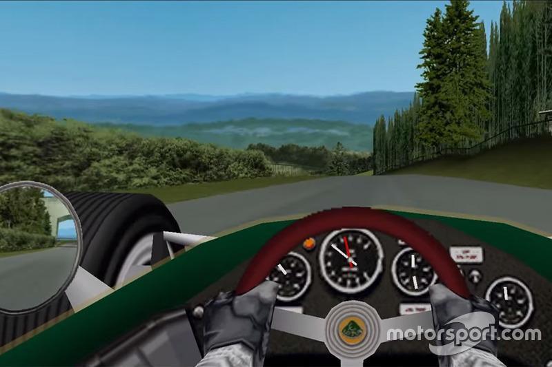 Classic Lotus at the Nürburgring in Grand Prix Legends