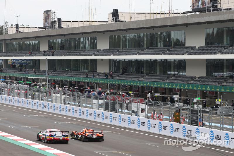 #71 AF Corse Ferrari 488 GTE: Davide Rigon, Sam Bird and #26 G-Drive Racing Oreca 05 - Nissan: Roman Rusinov, Alex Brundle, René Rast
