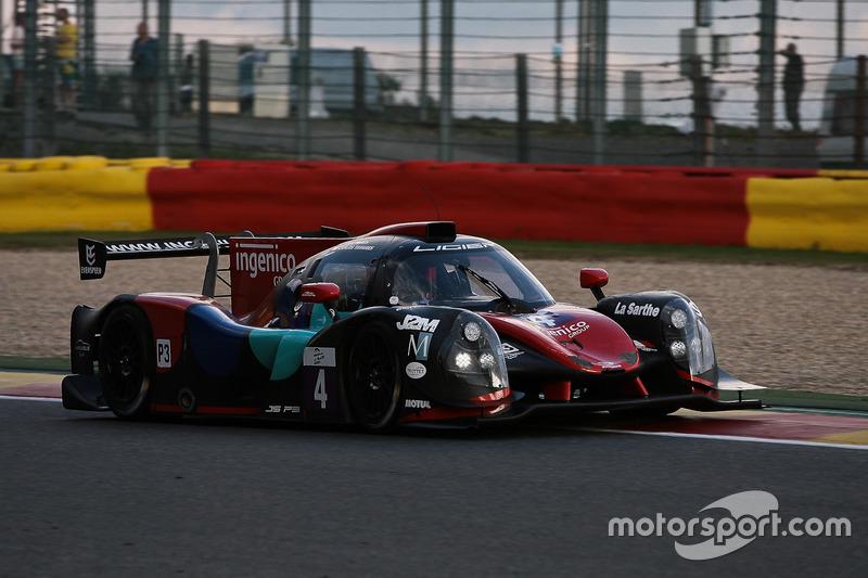 #4 Oak Racing, Ligier JS P3-Nissan: Carlos Tavares, Erik Maris
