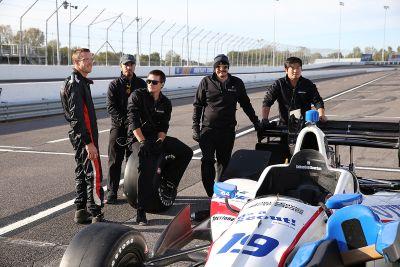 IndyCar-Test in St. Louis, Oktober