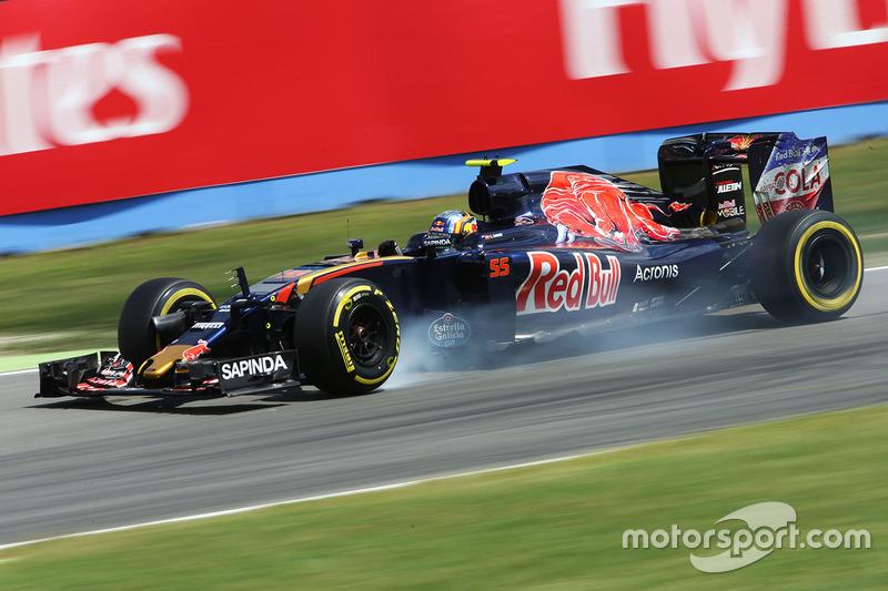 11. Carlos Sainz Jr., Scuderia Toro Rosso