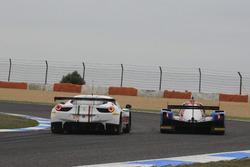 #51 AF Corse Ferrari F458 Italia: Rui Aguas, Marco Cioci, Piergiuseppe Perazzini; #32 SMP Racing BR 01 Nissan: Stefano Coletti, Andreas Wirth, Vitaly Petrov