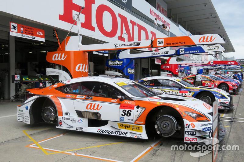 #36 Team Tom's Lexus RC F