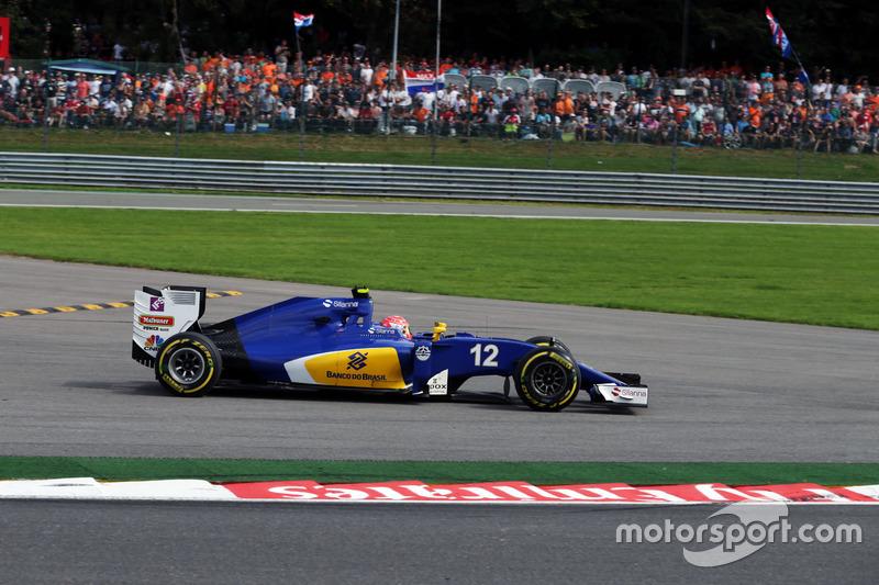 Felipe Nasr, Sauber C35 va largo
