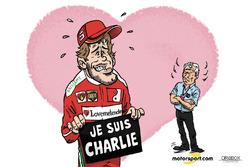 Formel-1-Comic von Cirebox