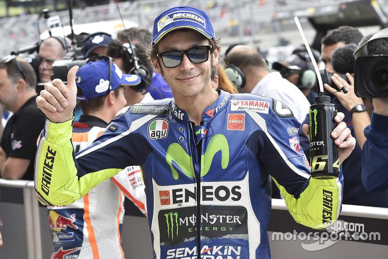 Terzo posto in griglia per Valentino Rossi, Yamaha Factory Racing