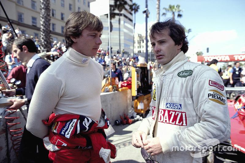 Didier Pironi e Gilles Villeneuve, 1982