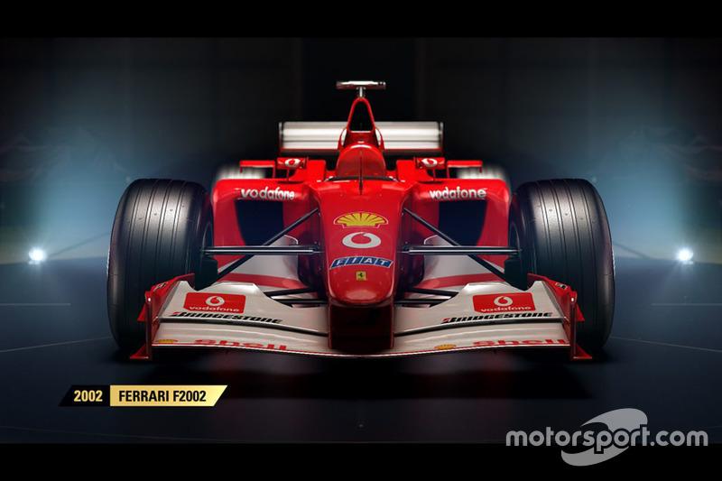 Das Sind Die Historischen Formel 1 Autos Im Spiel F1 2017