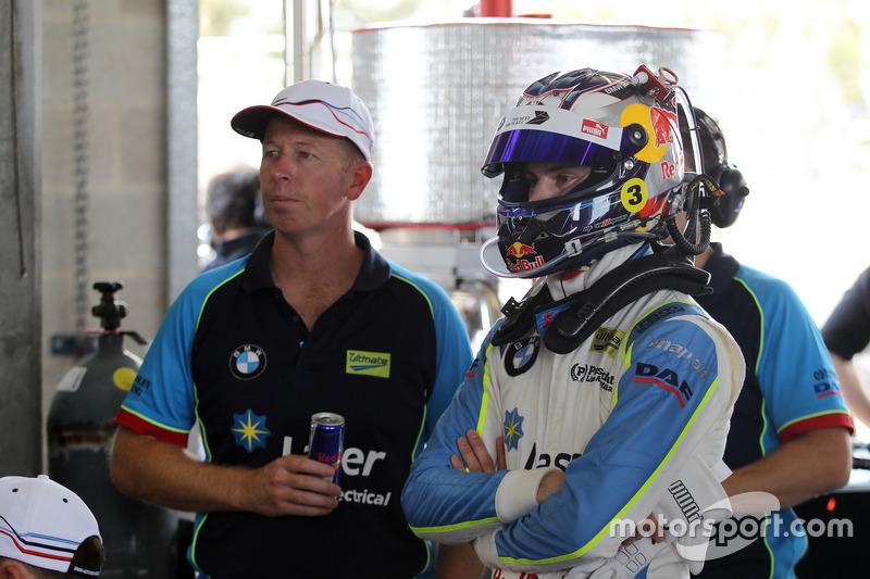 Steve Richards and Marco Wittmann, BMW Team SRM