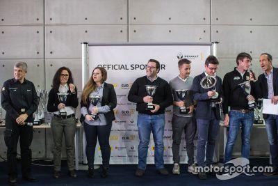 Premiazione Renault dei Campioni 2016