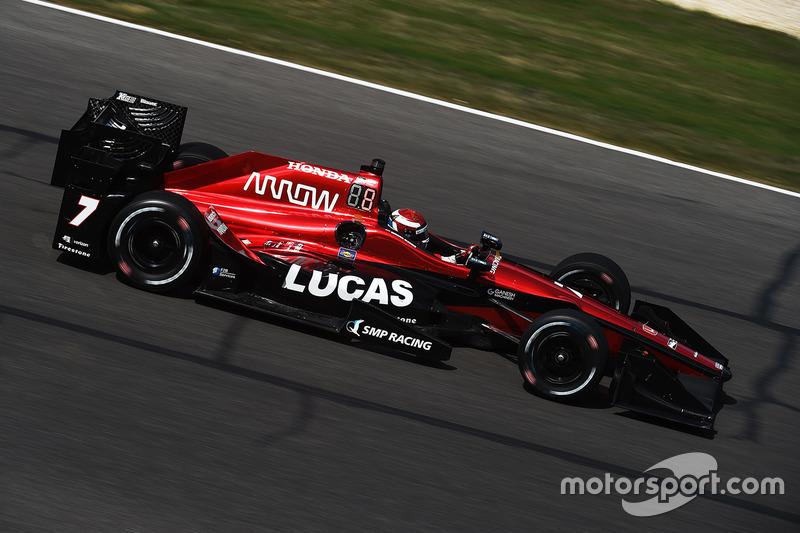 Михаил Алешин,Schmidt Peterson Motorsports (IndyCar, 19-е место в общем зачете,237 очков)